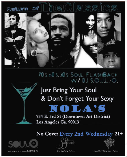TheClassics_Wednesdays@Nolas
