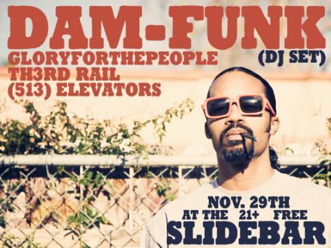 513 Elevators Live at Slidebar_Nov. 29_DJ set by Dam Funk