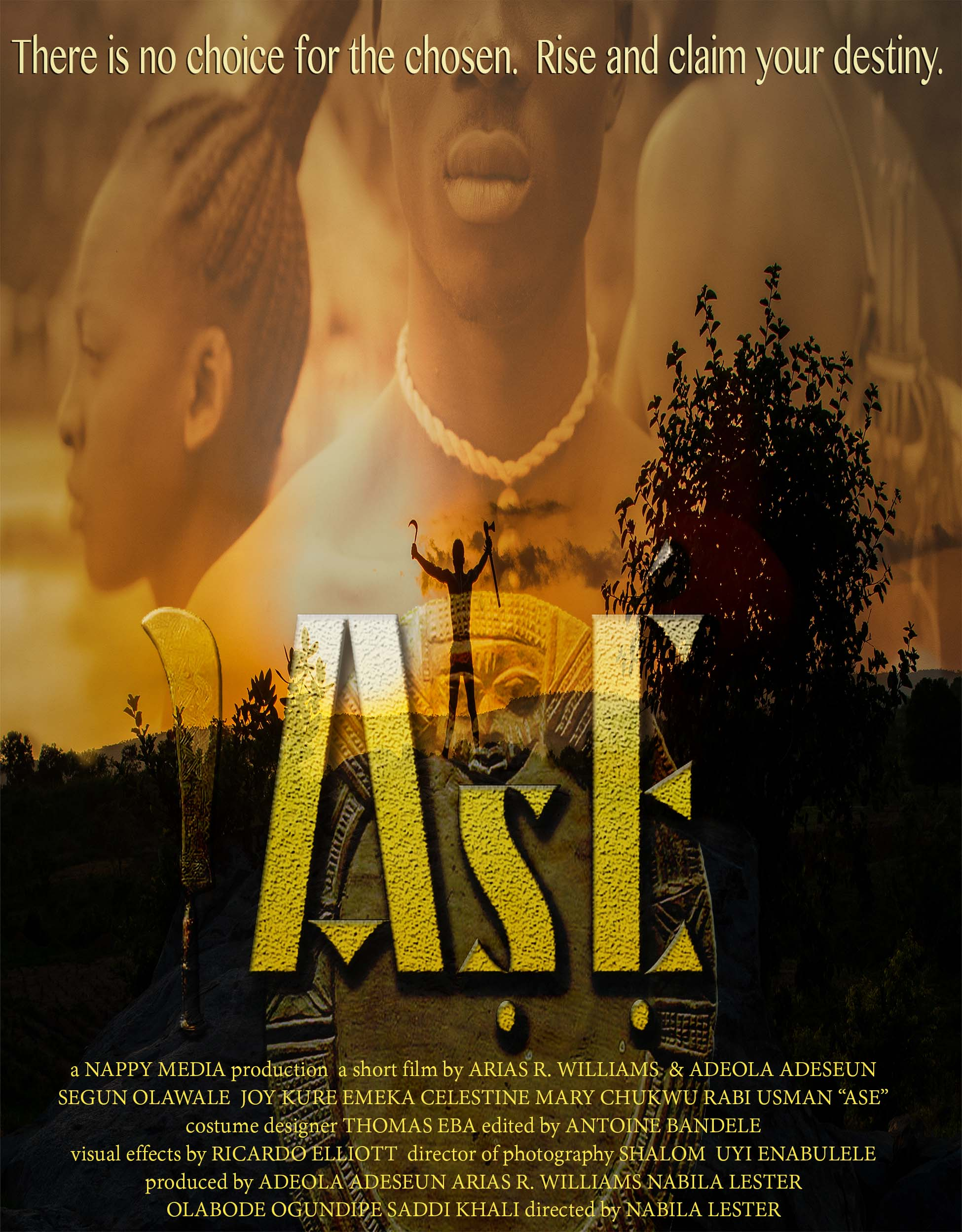ASE African Historical Fantasy by Nappy Nation Media