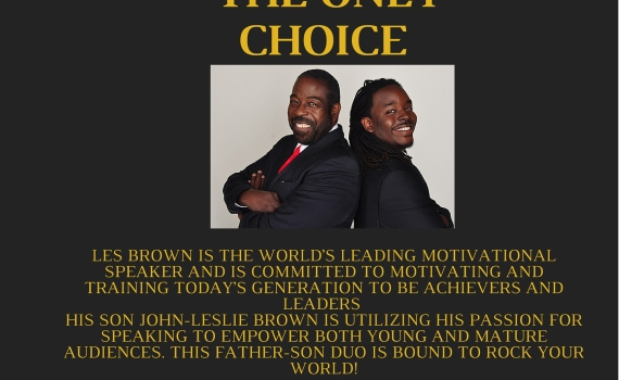 John-Leslie Brown Les Brown Motivational Speakers